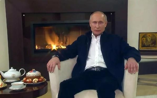 Путин, режим самоизоляции