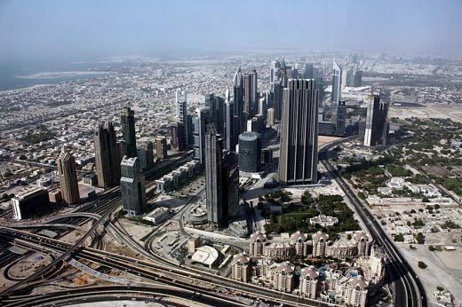 Центральная улица Дубаи