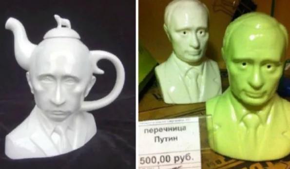 перечница Путин
