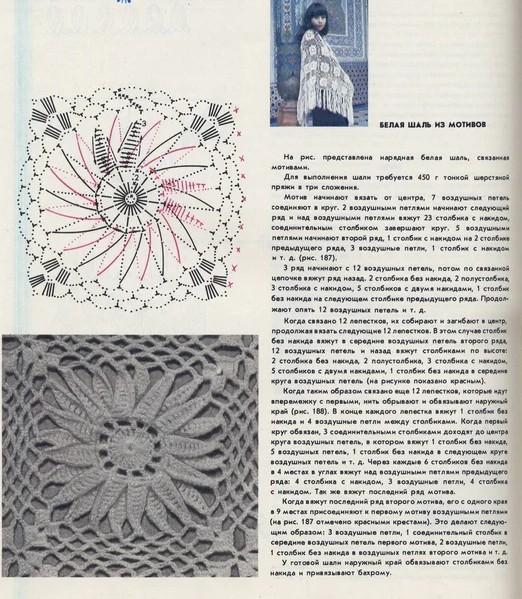 шаль из книги Анны Краузе