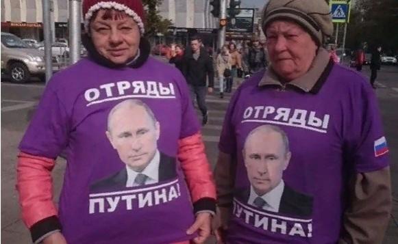 """""""Отряды Путина"""" снова в бою"""