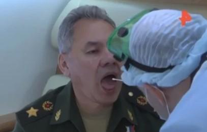 А если Шойгу заразит Путина?